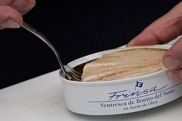 Ventresca de bonito frinsa de la lata o para cocinar - Oido cocina coruna ...