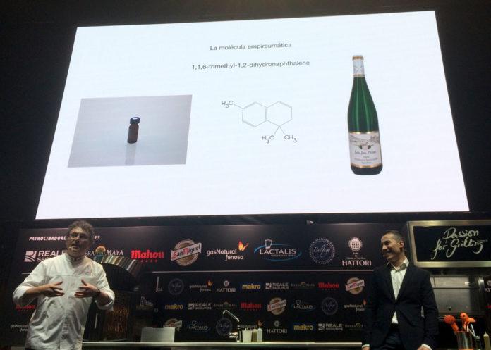 molécula empireumática