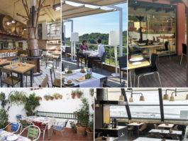 cinco restaurantes cerca del mar