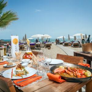 gastronomía en Hard Rock Ibiza